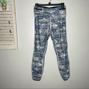 Lululemon Real Quick Tight Blurry Belle Crop Pant